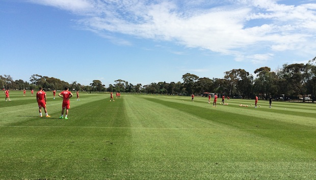 Ridley Reserve, training base of Adelaide United Football Club