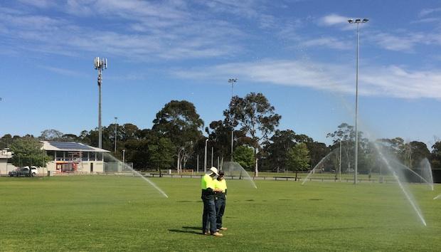 Toro 640 Series Sprinklers at Argana Park, Elizabeth Downs