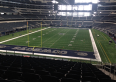 Texas Cowboys' AT&T Stadium in Dallas was another highlight for the tourists.