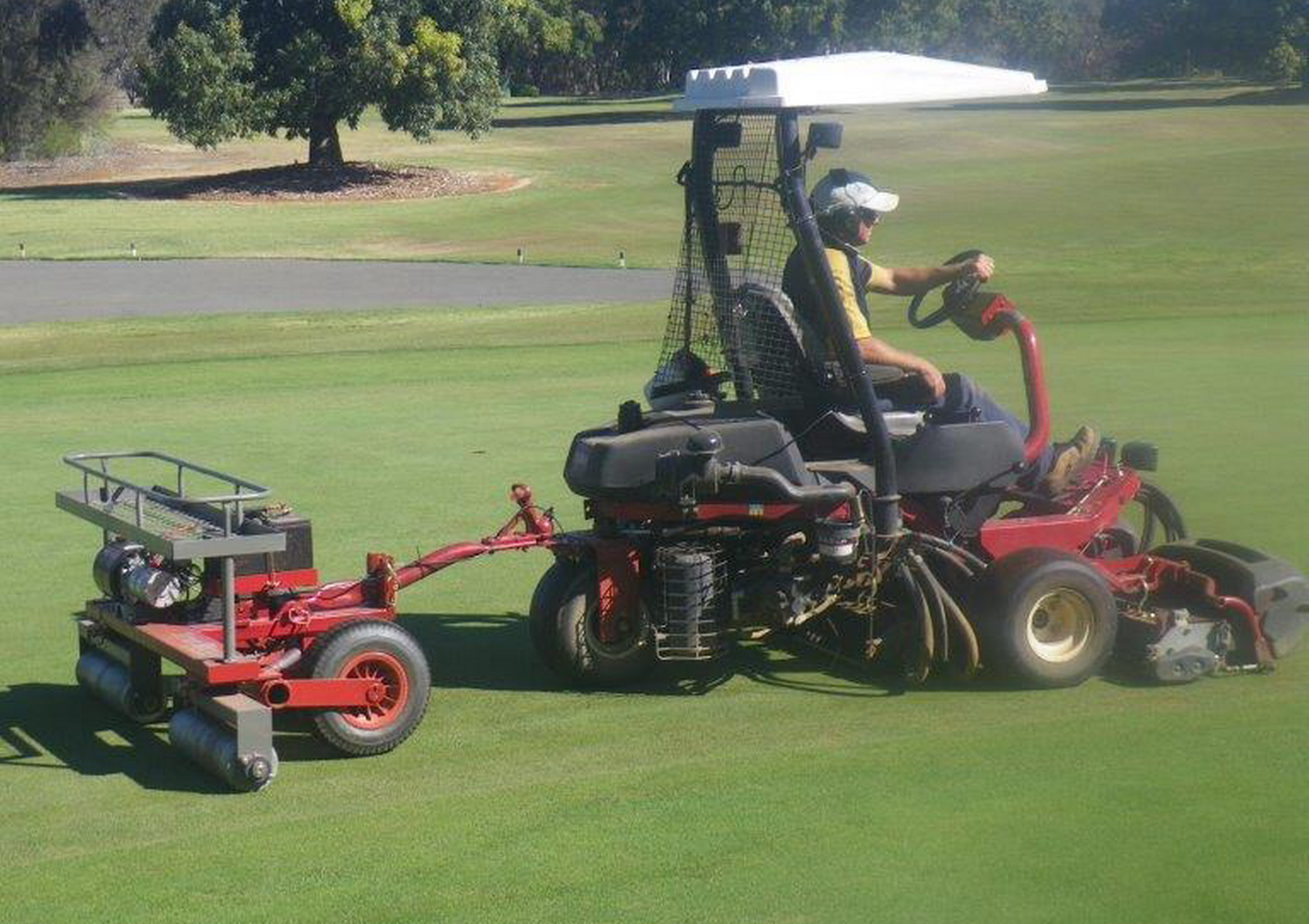 Greens Roller perfected at Murray Downs - Turfmate