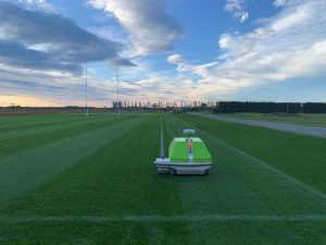 The Turf Tank One in action at the PGG Wrightson Seeds Kimihia Research Centre